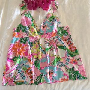 Summer blouse Lily Pulitzer, size XXl